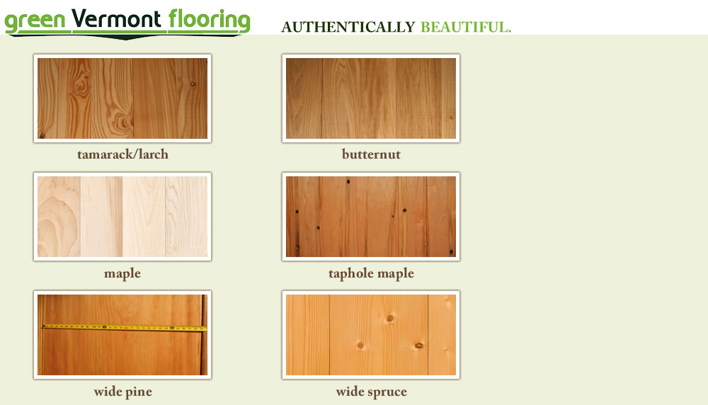 Wood Flooring In Stock Tamarack Butternut Maple Wide Pine Spruce